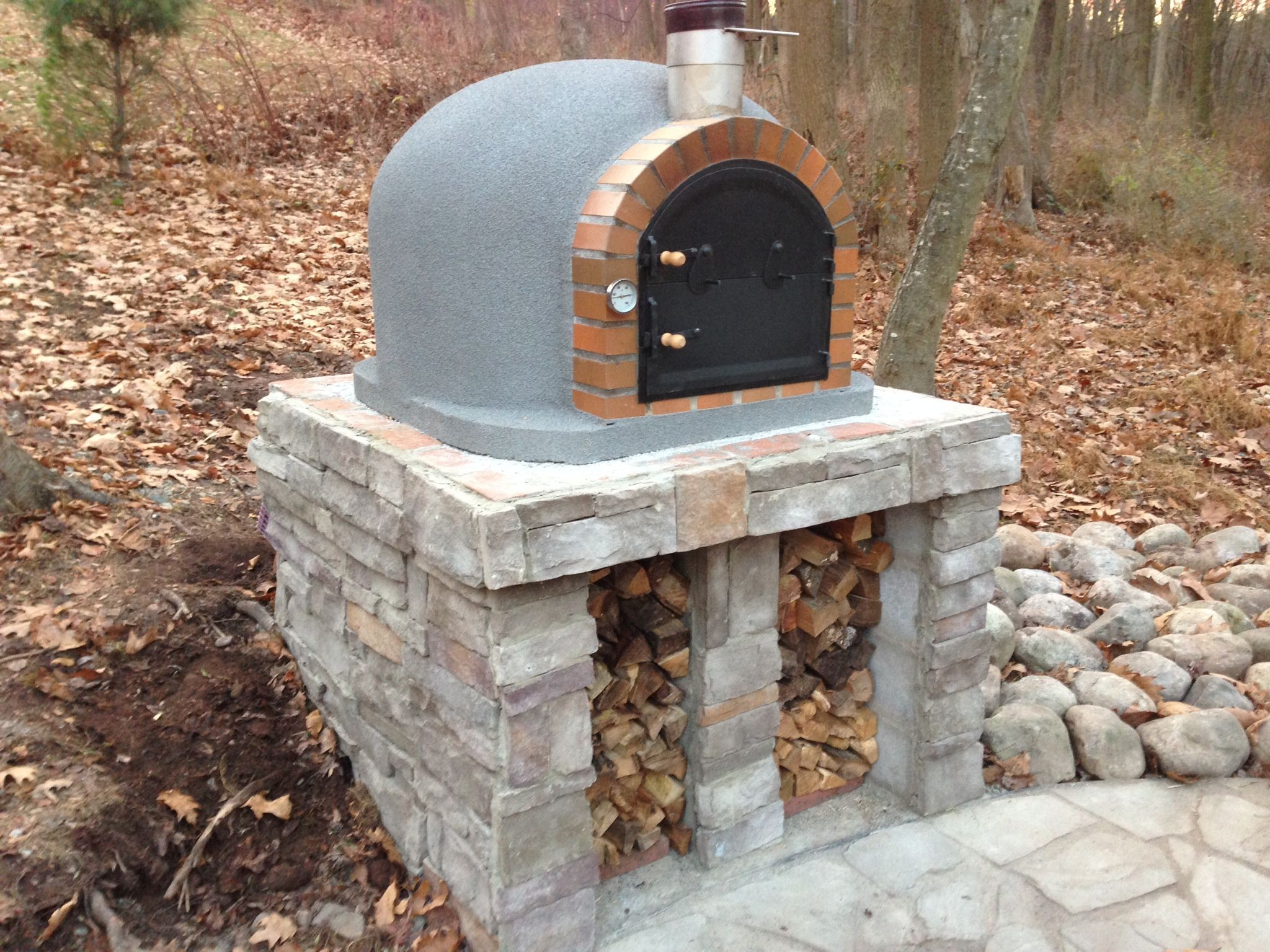 Clay Brick Stove : Code pizza oven insulated stone creations