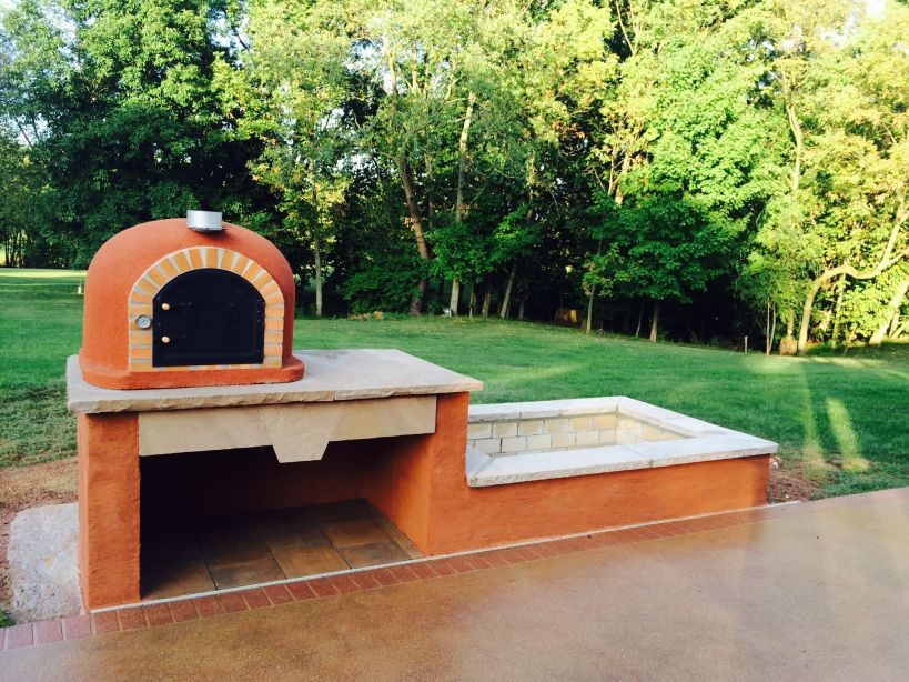 Clay Outdoor Ovens : Code pizza oven insulated stone creations