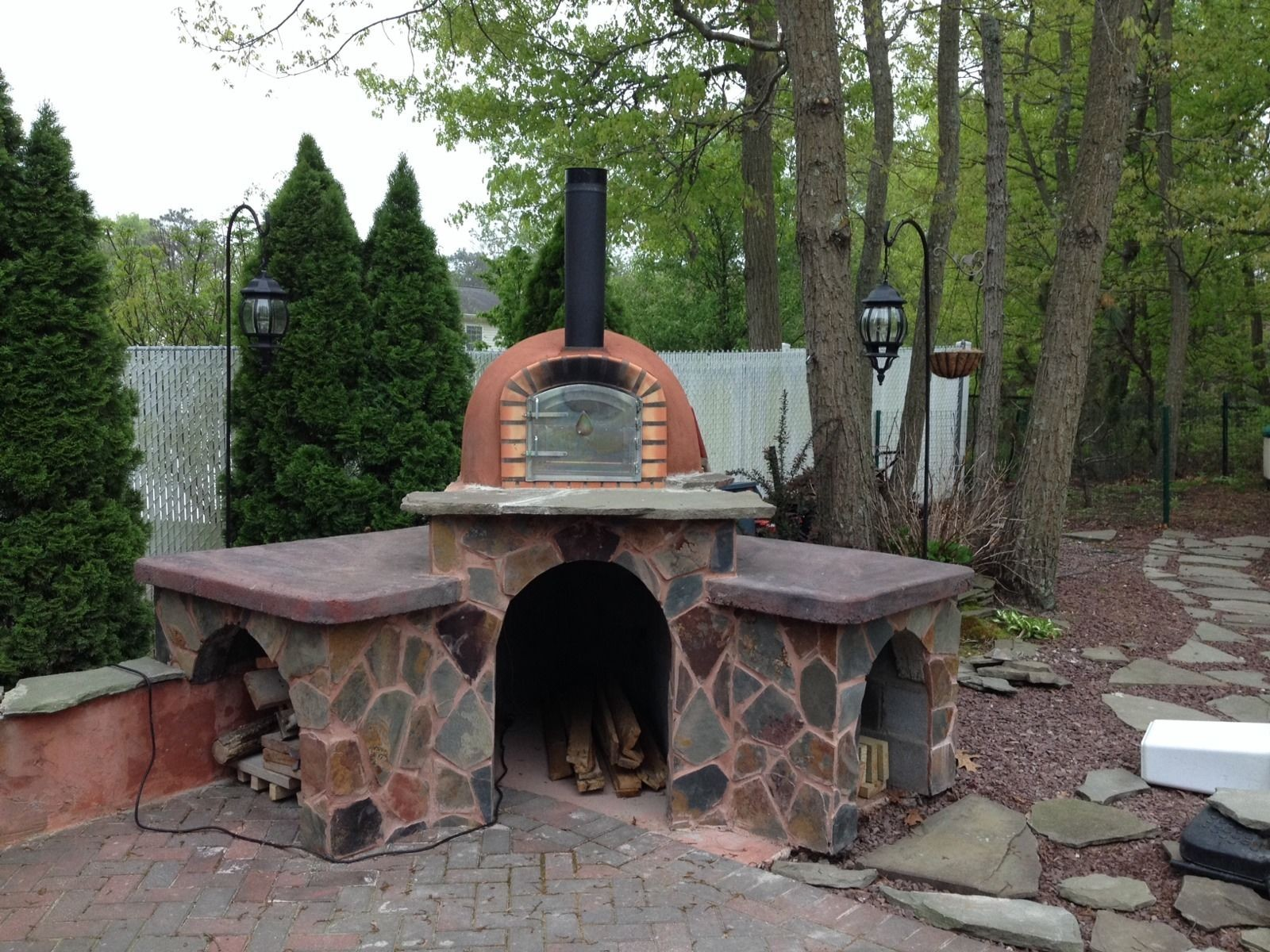 Code Brick Pizza Oven Stone Creations